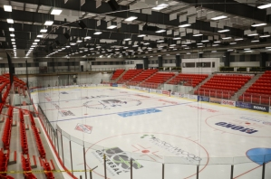 supplied for Keith Gerein Cold Lake feature- arena completed.