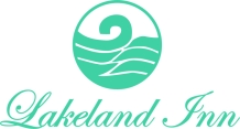 Teal logo with name