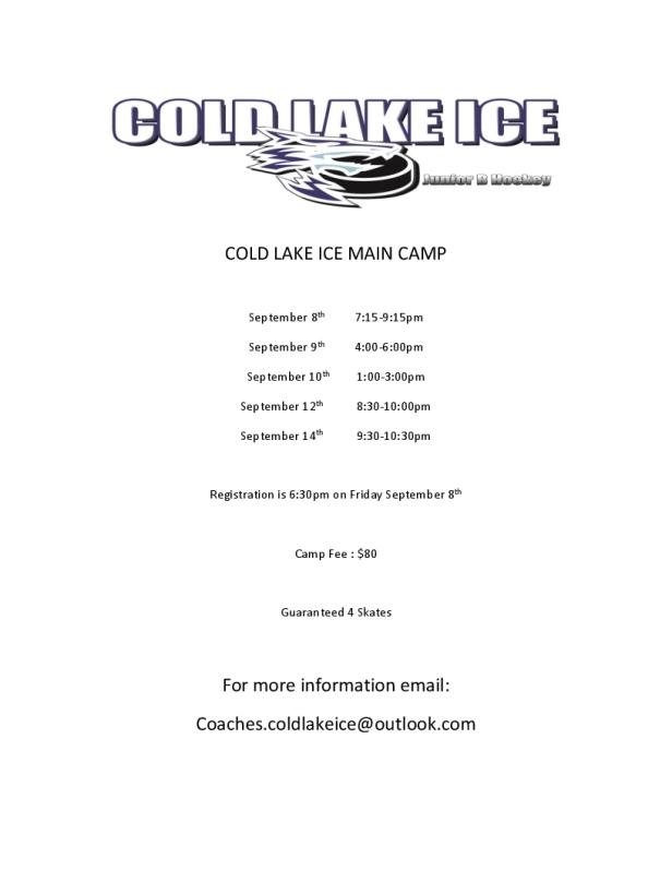 COLD LAKE ICE MAIN CAMP